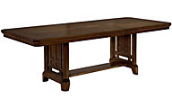 Broyhill Estes Park Trestle Table