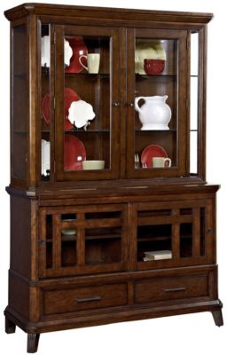 Broyhill Estes Park China Base & Hutch