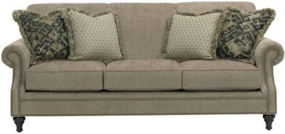 Broyhill Windsor Taupe Sofa