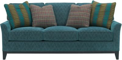Broyhill Perspectives Teal Sofa
