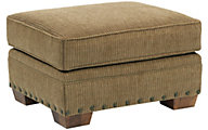 Broyhill Cambridge Tan Ottoman