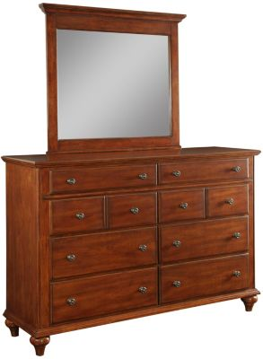 Broyhill Hayden Place Cherry Dresser with Mirror