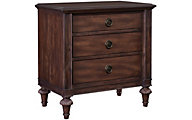 Broyhill Cranford 3-Drawer Nightstand