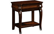 Broyhill Aryell Cherry 1-Drawer Nightstand