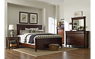 Broyhill Aryell Cherry 4-Piece King Bedroom Set
