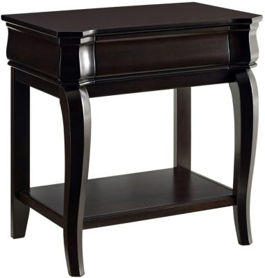 Broyhill Aryell Cacao 1-Drawer Nightstand
