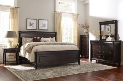 Broyhill Aryell Cacao 4-Piece King Bedroom Set