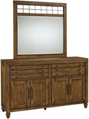 Broyhill Bethany Square Dresser with Mirror