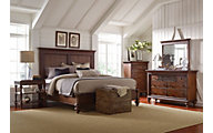Broyhill Cascade 4-Piece King Bedroom Set