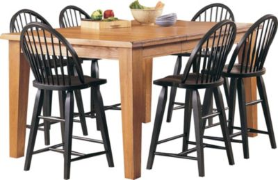 Broyhill Attic Heirlooms 7-Piece Counter Dining Set