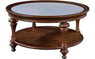 Broyhill Cascade Glass Top Coffee Table