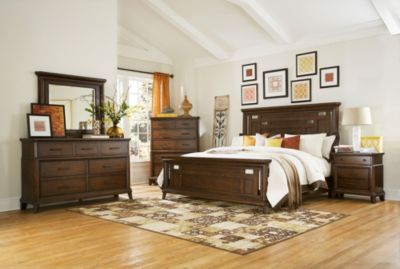 Broyhill Estes Park 4-Piece Queen Bedroom Set