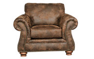 Broyhill Laramie Microfiber Chair With Nailhead