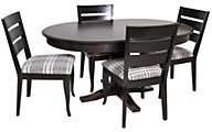 Canadel Gourmet Table & 4 Chairs