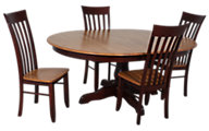 Canadel 5-Piece Solid Birch Dining Set