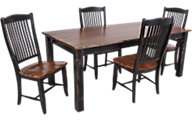 Canadel Champlain Table & 4 Chairs