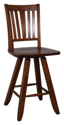 Canadel Solid Birch Counter Stool