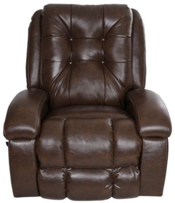 Catnapper Howell Chocolate Swivel Glider Recliner