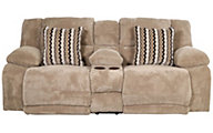 Catnapper Hammond Reclining Loveseat with Console