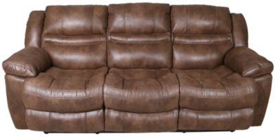 Catnapper Valiant Power Reclining Sofa with Drop-Down Table