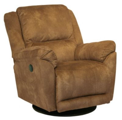 Catnapper Maverick Saddle Power Reclining Swivel Glider