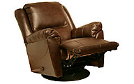 Catnapper Maverick Java Reclining Swivel Glider