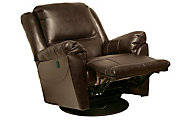 Catnapper Maverick Java Power Reclining Swivel Glider