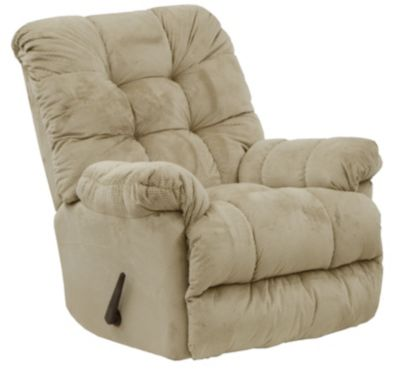 Catnapper Nettles Cream Massage Rocker Recliner