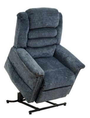 Catnapper Soother Blue Lift Massage Chair