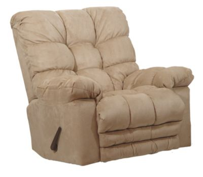 Catnapper Magnum Almond Massage Rocker Recliner