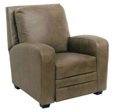 Catnapper Avanti Tan Bonded Leather Press-Back Recliner