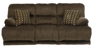Catnapper Riley Brown Reclining Sofa