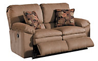 Catnapper Impulse Tan Power Reclining Loveseat