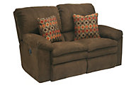 Catnapper Impulse Brown Power Reclining Loveseat