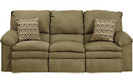 Catnapper Impulse Tan Power Reclining Sofa
