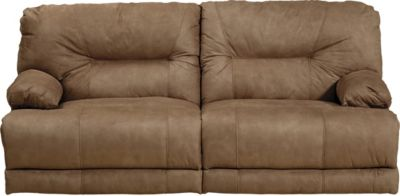 Catnapper Noble Tan Lay-Flat Power Reclining Sofa