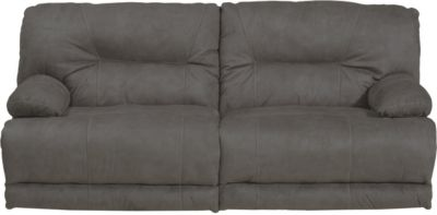 Catnapper Noble Gray Lay-Flat Power Reclining Sofa