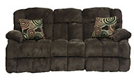 Catnapper Concord Espresso Power Reclining Lay-Flat Sofa