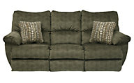 Catnapper Gavin Olive Power Reclining Sofa