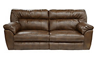 Catnapper Nolan Brown Reclining Sofa