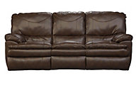Catnapper Perez Brown Reclining Sofa
