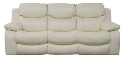 Catnapper Catalina White Reclining Sofa