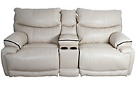 Catnapper Larkin Lay-Flat Reclining Loveseat with Console