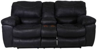 Catnapper Terrance Power Reclining Loveseat with Console