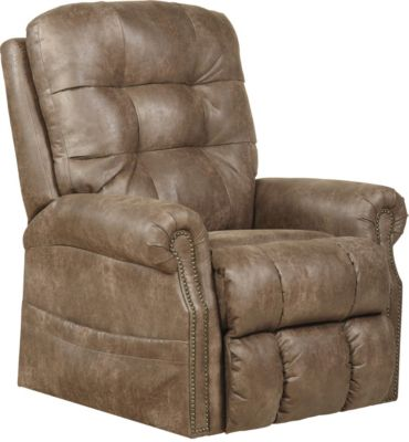 Catnapper Ramsey Tan Massage Lay-Flat Lift Chair