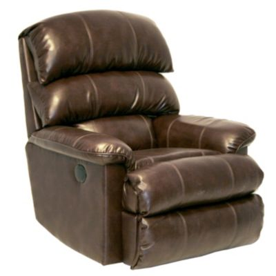 Catnapper Templeton Bonded Leather Power Rocker Recliner