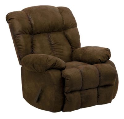 Catnapper Laredo Chocolate Rocker Recliner