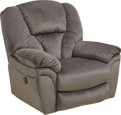Catnapper Drew Taupe Power Lay-Flat Recliner