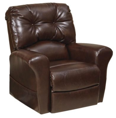 Catnapper Landon Java Bonded Leather Lift Chair