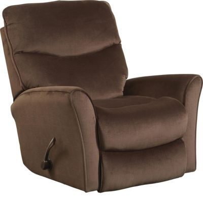 Catnapper Evan Chocolate Rocker Recliner